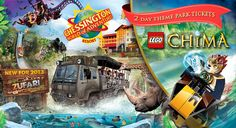 Go on an adventurous family break for four this April – spend a night at Chessington's safari-themed hotel, battle it out at the LEGO Chima Challenge Roadshow plus enjoy TWO days exploring the theme park