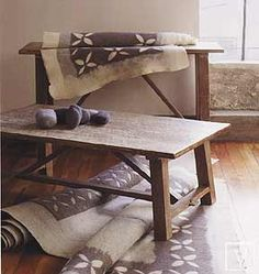 ANTWERP COFFEE AND CONSOLE ENTRY TABLE