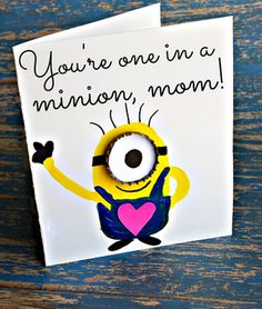 One in a Minion Mother's Day Card