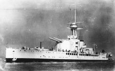 HMS Erebus was a First World War monitor launched on 19 June 1916 which served in both world wars. She was the lead ship of her class, with one sister ship, HMS Terror. Two 15 in (381 mm)/42 guns removed from Marshal Ney formed the main armament, in a single forward turret. #HMSErebus #monitor #royalnavy #ship