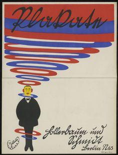 "Julius Klinger, ""Plakate"" poster for the printer Hollerbaum & Schmidt, Berlin, 1910. © Foto: Kunstbibliothek der Staatlichen Museen zu Berlin - Preußischer Kulturbesitz"