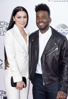 Pin for Later: Les Plus Beaux Looks des American Music Awards, C'est Par Ici Jessie J et Luke James