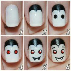 http://eslamoda.com/30-terrorificos-disenos-de-unas-que-debes-intentar-este-halloween  Dracula