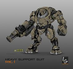 HEAVY SUPPORT SUIT MK.1 (Commission) by ianskie1 on deviantART
