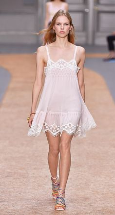 Look 17 from the Chloé Spring-Summer 2016 collection