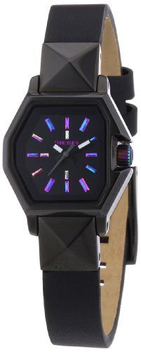 Diesel Damen-Armbanduhr Analog Quarz Leder DZ5300