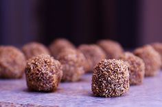 Chocolate salty balls. Oh, these are what you mean!!!! Too funny