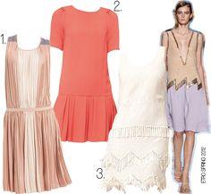 trend: drop waist dresses