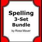 Spellings: Spelling bundle will save you time and money. Save 20% when buying the spelling bundle compared to the 3 individual products. Each of th...