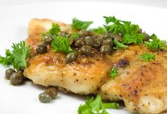 Low Carb Chicken Piccata