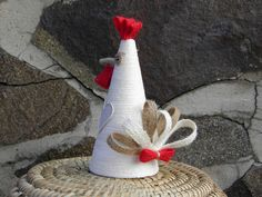 O kohoutkovi a slepičce / Zboží prodejce PetraHetenyi | Fler.cz Design Crafts, Decor Crafts, Crafts To Sell, Diy And Crafts, Toilet Paper Crafts, Chicken Crafts, Easter Table Decorations, Diy Ostern, Chickens And Roosters