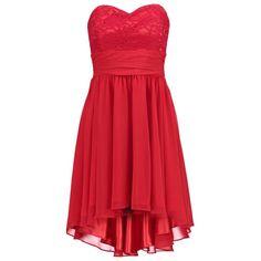 Du brauchst noch ein schickes elegantes Kleid für Weihnachten und Silvester? Dann setz' doch dieses rote Cocktailkleid direkt auf deine Wunschliste.