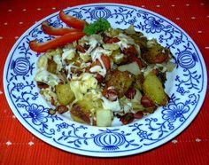 Zelenina po anglicku :: Domací kuchařka - vyzkoušené recepty Potato Salad, Potatoes, Chicken, Ethnic Recipes, Food, Potato, Essen, Meals, Yemek
