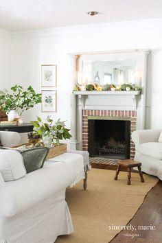 Seasonal Simplicity Fall Home Tour