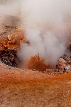 Red Spouter Mudpot, Yellowstone National Park | Oysters & Pearls