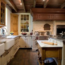Farmhouse Kitchen by Peter Zimmerman Architects
