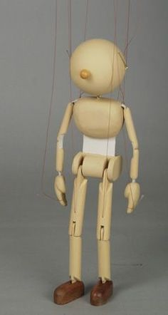 FABULOUS VINTAGE STYLE RUSTIC WOODEN PINNOCHIO PUPPET ARTICULATED ARMS /& LEGS