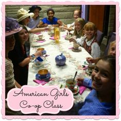 American Girls Homeschool Co-op Class