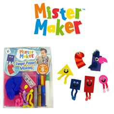Mister Maker craft sets
