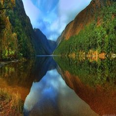 Mountain Lake, Glendalough, Ireland. What a magical place to be. I stood beside this lake for a long time, fully appreciating the opportunity to visit this beautiful country for ten days!