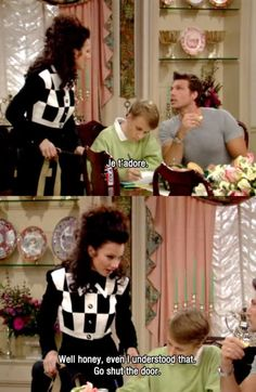 Favorite episode! The Nanny, Frenchman episode. Jet adore.