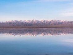 Chaka Salt Lake: Where the Water Meets the Sky