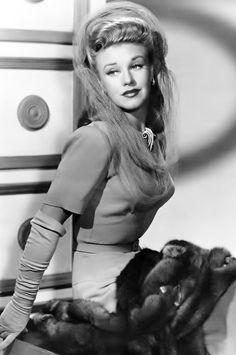 Ginger Rogers by Everett, 1943.