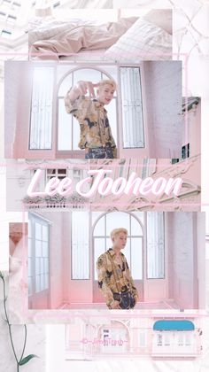 Monsta X Jooheon, Shownu, Hyungwon, Kihyun, Pink Wallpaper, Bts Wallpaper, Kpop, Red Aesthetic, Starship Entertainment