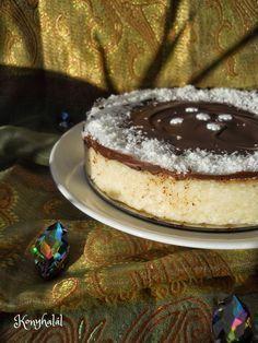 kókuszos tejbegríz torta sütés nélkül Hungarian Recipes, No Bake Treats, No Bake Cake, Tiramisu, Tart, Pancakes, Cheesecake, Deserts, Food And Drink