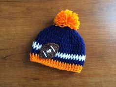 Crochet Denver Broncos Inspired Beanie Any by CrochetByClaudia, $20.00