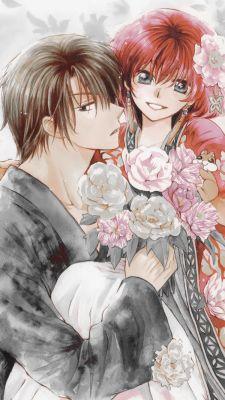 Akatsuki no Yona Hak x Yona iPhone wallpaper - CLS Akatsuki No Yona, Anime Akatsuki, Flower Wallpaper, Iphone Wallpaper, Son Hak, Manga Anime, Animes On, Manga Couple, Another Anime