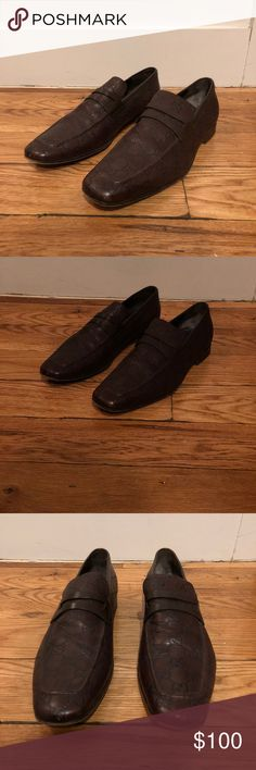 Gucci Loafer Shoes Men's Gucci Loafer shoes. Lightly used. Genuine leather and made in Italy. Gucci Shoes