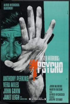 Psychose Affiche