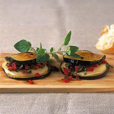 Auberginen mit Käsefüllung Rezept | Küchengötter