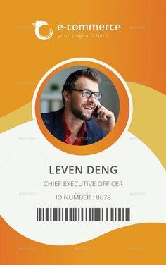 47 Best Id Badge Images Id Design Badge Design Business Cards