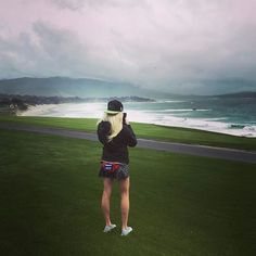 Just taking in that view!!! #pebblebeach #usa #fannypack #montereylocals #pebblebeachlocals - posted by Katie LaRoche https://www.instagram.com/katielaroche - See more of Pebble Beach at http://pebblebeachlocals.com/