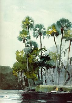 Homosassa River | Winslow Homer | oil painting #americanpaintings