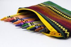 Cute! Looks my Mexican coin purses!| Ethiopian Zipper Pouch Coin Purse Adoption by FormerlyFlints