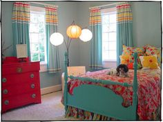 colorful and a idea for Kaits room??