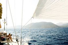 Sailing takes me way away to where I am going