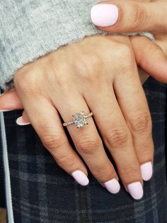 Cute Engagement Rings, Radiant Cut Engagement Rings, Rose Gold Engagement Ring, Cushion Cut Engagement Ring, Cushion Cut Diamonds, Cushion Cut Diamond Ring, Halo Diamond, Square Cut Diamond Ring, Diamond Shapes