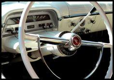 1954 - Mercury.Classic Car Interior Art&Design @classic_car_art #ClassicCarArtDesign