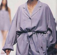 Baggy shirt dress