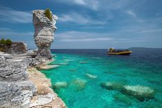 Located in Tobermory, Ontario, Flowerpot Island has been touted as one of the country's most fascinating natural attractions.