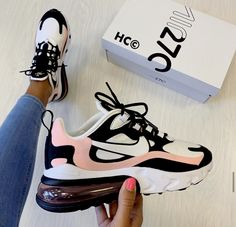 I think I'm in love with this pair of Nike Air Max 270 Regram Bridie McCarey . - I think I'm in love with this pair of Nike Air Max 270 Regram Bridie McCarey …- Source by - All Nike Shoes, Nike Shoes Air Force, Kicks Shoes, Hype Shoes, Nike Tennis Shoes, Running Shoes, Black Nike Shoes, Shoes Men, Black Nikes