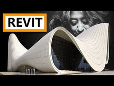 Zaha Hadid in Revit Tutorial. A simple Revit tutorial showing you how to easily model smooth curves similar to those seen in many Zaha Hadid buildings, th. Zaha Hadid Buildings, Curved Walls, Curves, Architecture Design, Youtube, Tutorials, Tips, Architecture Layout, Full Figured