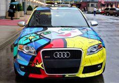 #Audi #AudiRS4 #colors #art