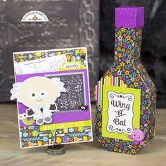Doodlebug Design Inc Blog: Boos & Brews Collection: Potion Bottle Set by Corri
