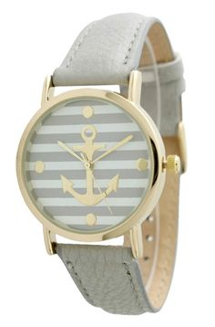 Grey Anchor Watch