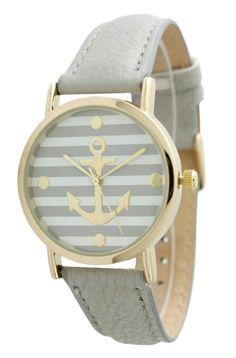 Grey Anchor Watch